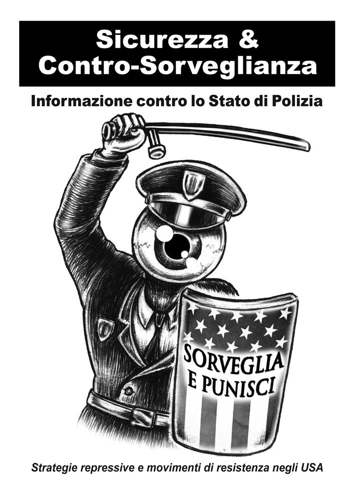 Sicurezza e controsorveglianza (COPERTINA) - graficanera - NO COPYRIGHT