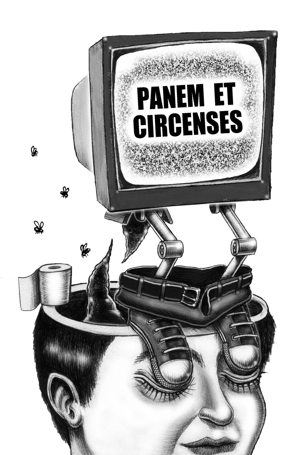 panem et circenses - graficanera - NO COPYRIGHT