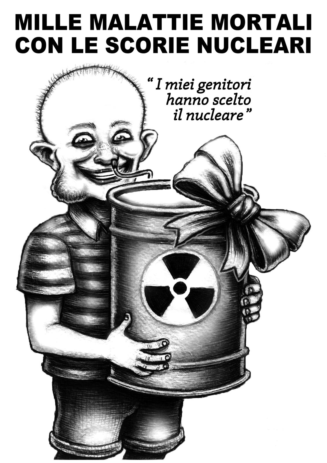 scorie nucleari - graficanera - NO COPYRIGHT