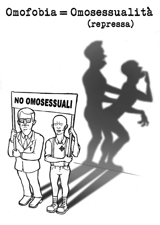 omofobia - graficanera - NO COPYRIGHT