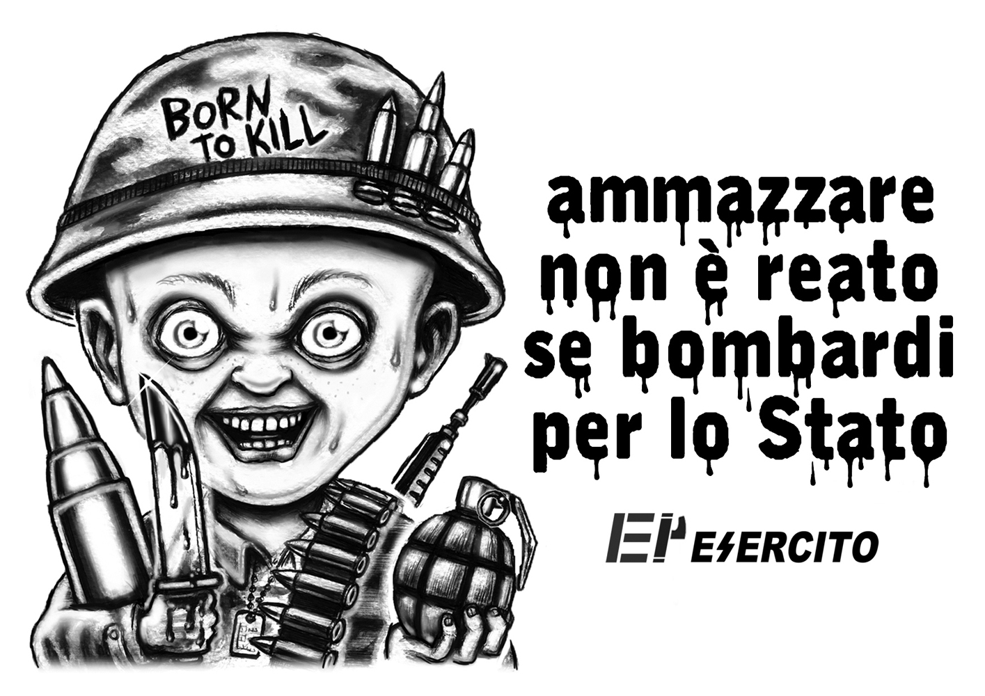 MILITARI ASSASSINI - graficanera - NO COPYRIGHT