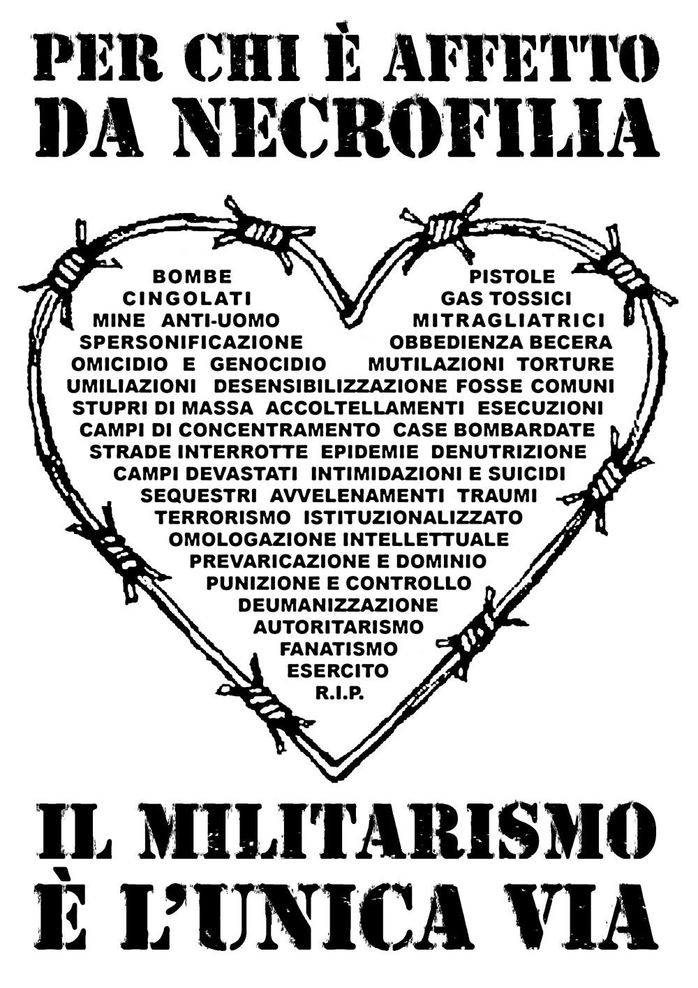 militarismo & necrofilia #2 - graficanera - NO COPYRIGHT