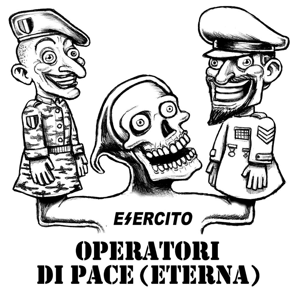 operatori di pace eterna - graficanera - NO COPYRIGHT