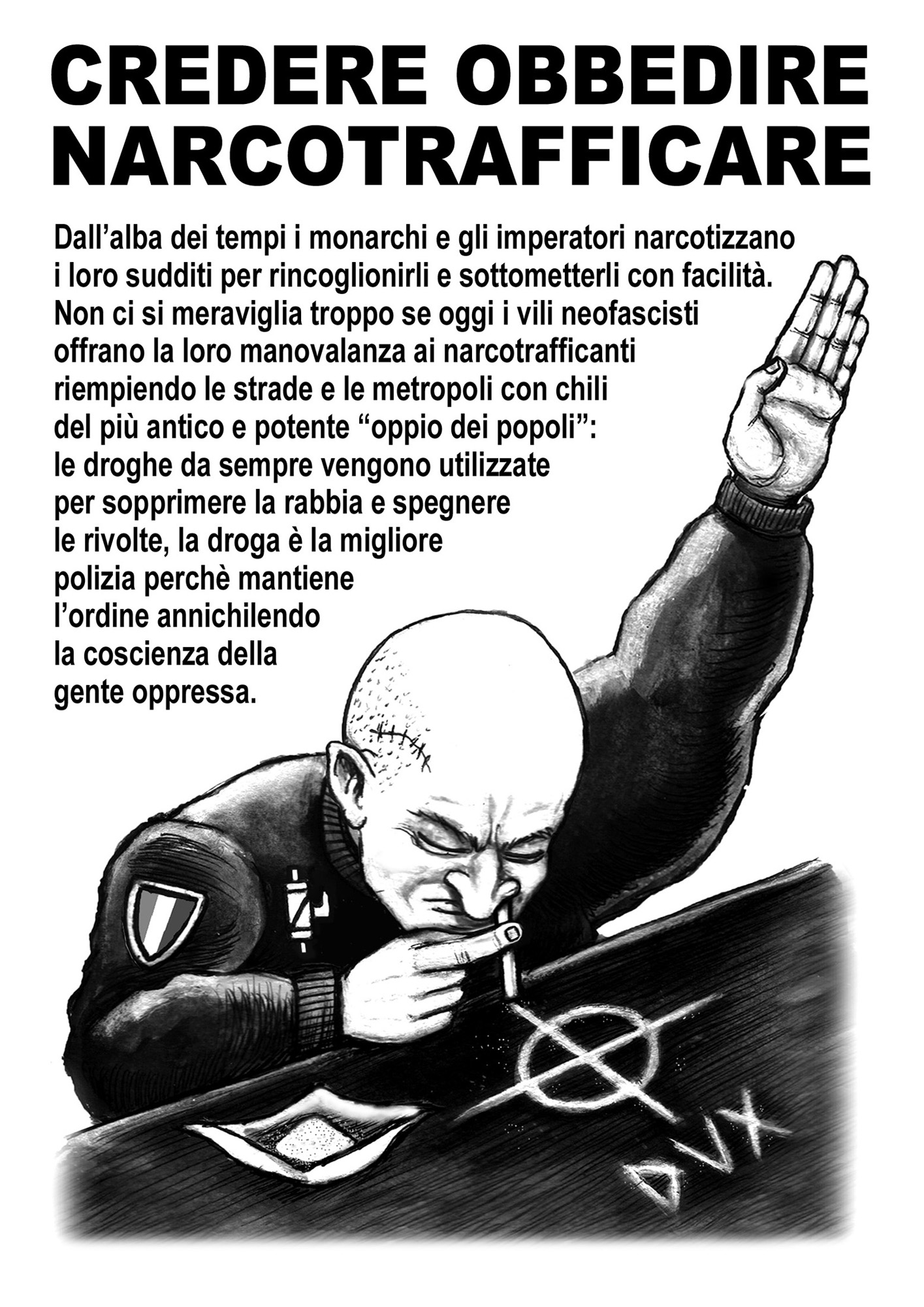 narcofascismo - graficanera - NO COPYRIGHT
